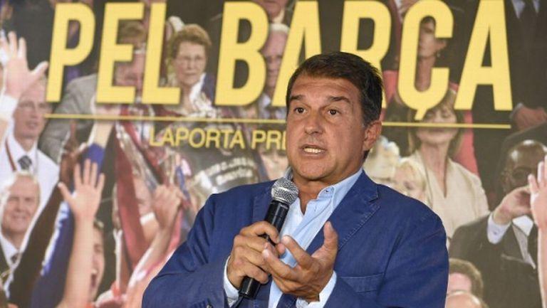 Лапорта ще се кандидатира за президент на Барселона