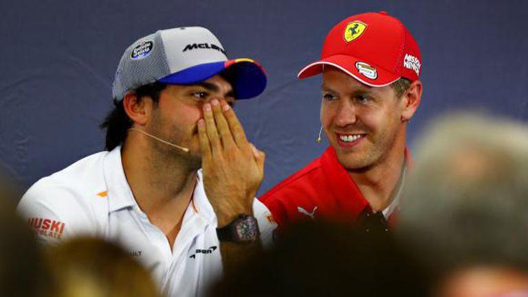 Ферари имат предварителен договор с Карлос Сайнц?