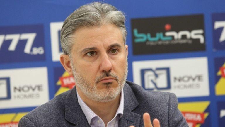 Павел Колев: Няма да подавам оставка, докато не стане ясно какво се случва с клуба