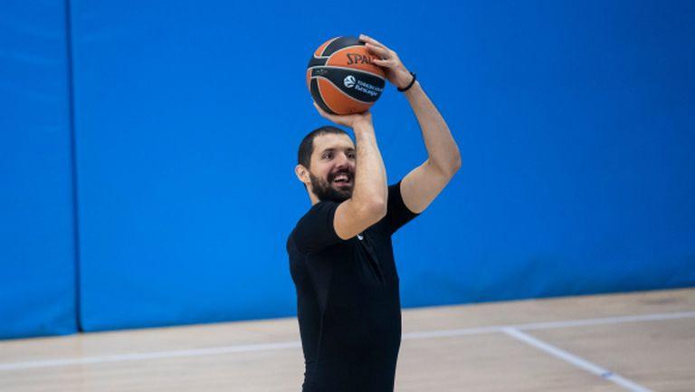 Баскетболистите на Барселона се завърнаха в залата