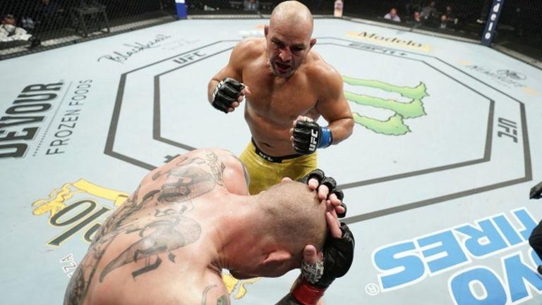 Отвратително безумие на UFC Fight Night 171