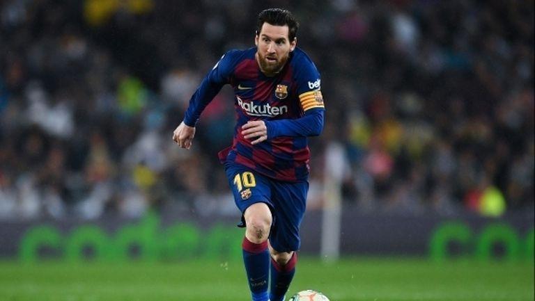 Меси коригира изказване на треньора на Барселона