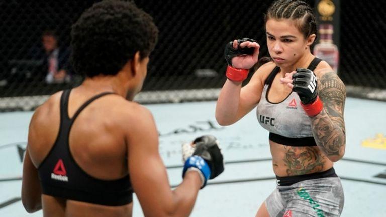 Женската битка на галавечерта на UFC определено не разочарова