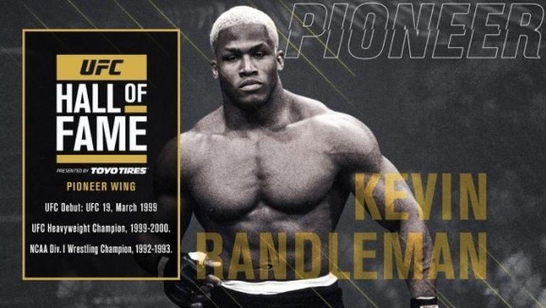 Кевин Рандълман приет посмъртно в залата на славата на UFC