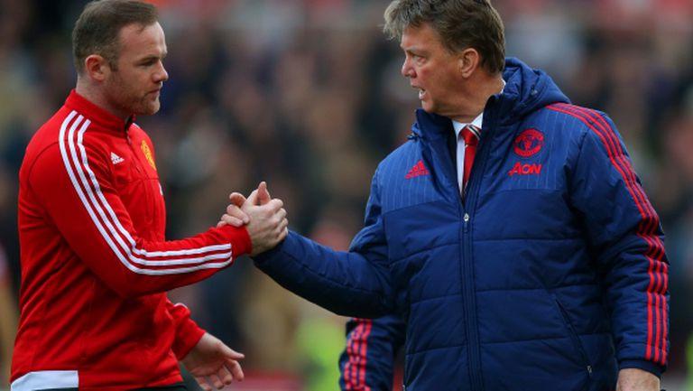 Рууни: Юнайтед направи голяма грешка с уволнението на Ван Гаал