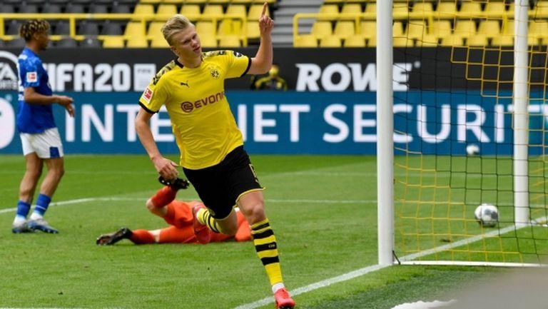 Холанд в Дортмунд - 13 гола, 12 мача, 11... думи! (видео)
