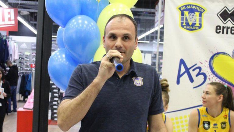 Мениджърът на Марица: Искаме да играем в турското първенство, но нямаме покана