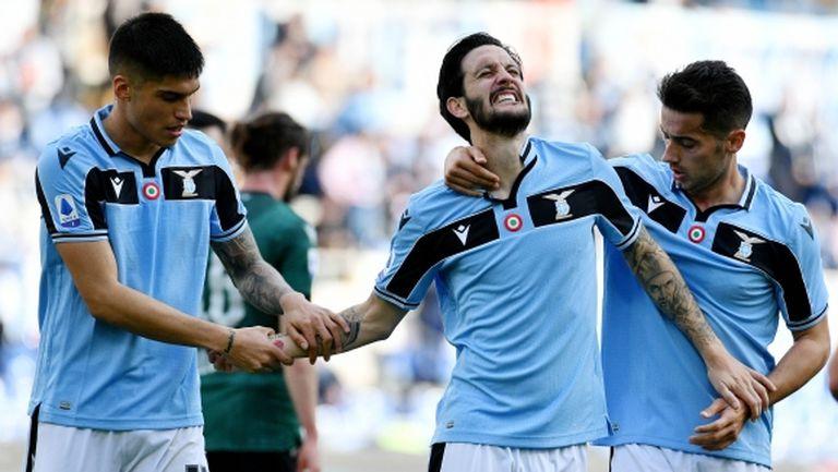 Футболистите на Лацио са против намаляване на заплатите