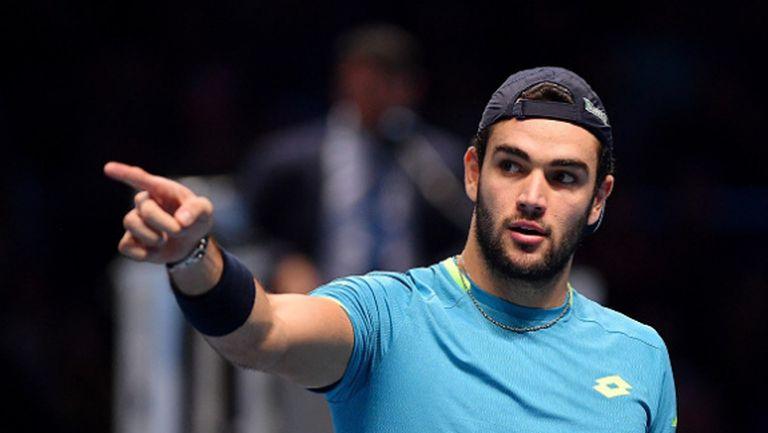 Беретини: Не е работа на играчите да спасяват другите тенисисти