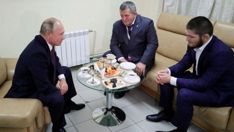 Путин обещал на Хабиб най-добрата грижа за баща му