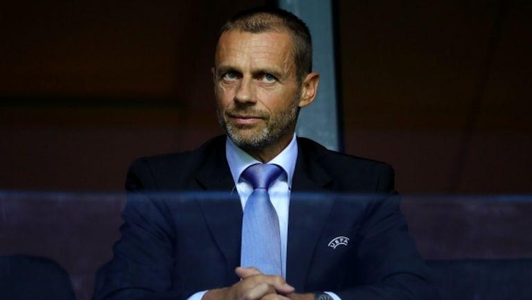 Чеферин: Ситуацията в УЕФА не е толкова критична, но мислим за другите