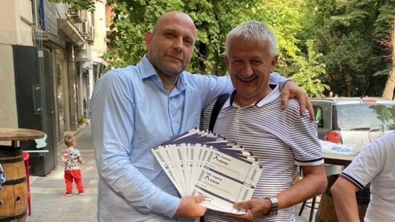 """Крушарски с голям жест към Левски - купи сериозно количество билети за спасението на """"сините"""""""