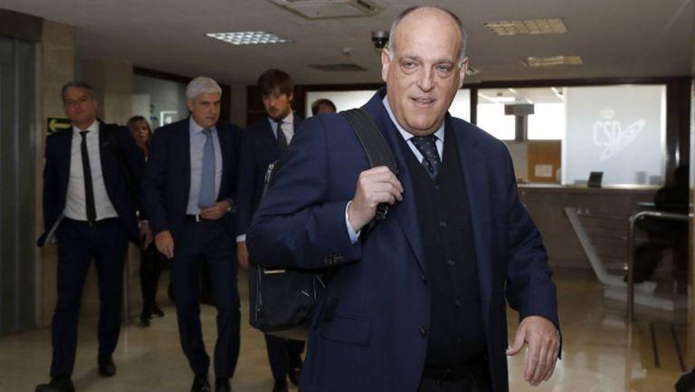 Шефът на Ла Лига заяви, че няма твърда дата за рестарт