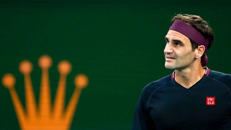 Федерер: Не виждам причина да тренирам в момента