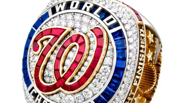 108 диаманта, 32 сапфира и 30 рубина върху шампионския пръстен на Вашингтон