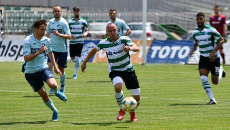 Футболът в България се завърна! Дунав удари Черно море