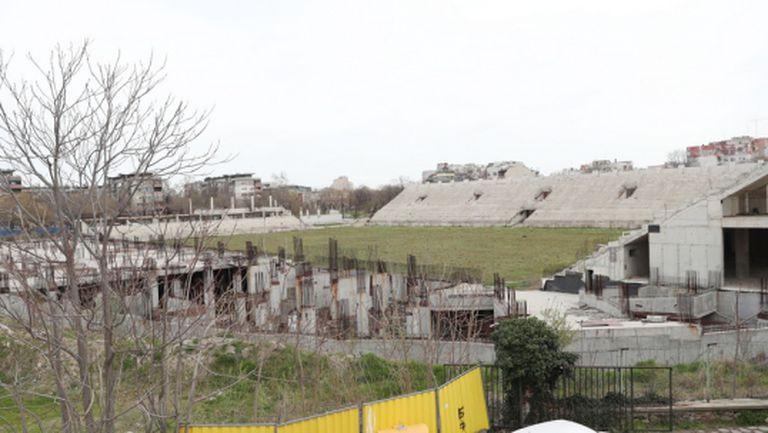 """Община Пловдив очаква оферти за дострояването на стадион """"Христо Ботев"""" до 8 юни"""