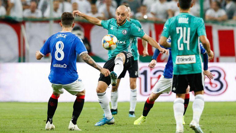 Легия Варшава - Рейнджърс 0:0