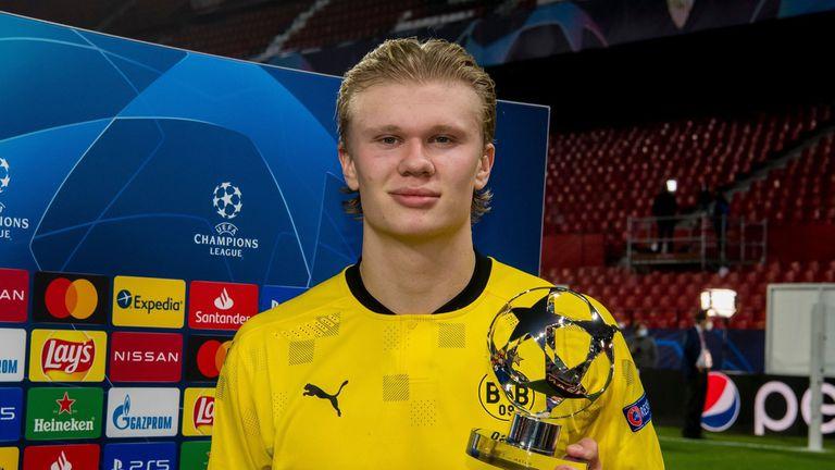 Ерлинг Холанд стана голмайстор на Шампионската лига
