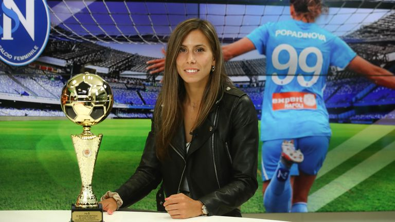 Евдокия Попадинова: Влюбих се в Наполи, имам оферти от Флоренция и други отбори