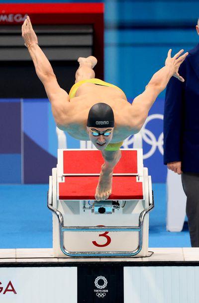 Йосиф Миладинов на олимпийски финал в плуването