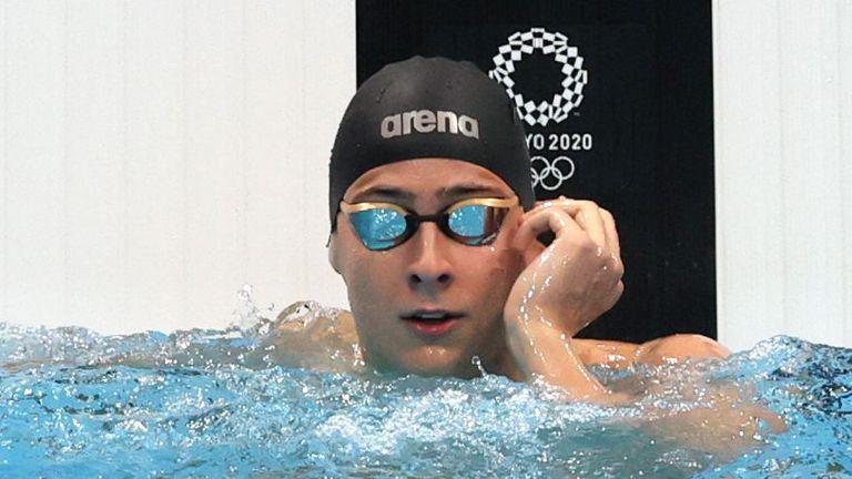 Йосиф Миладинов е най-младият сред финалистите на 100 метра бътерфлай