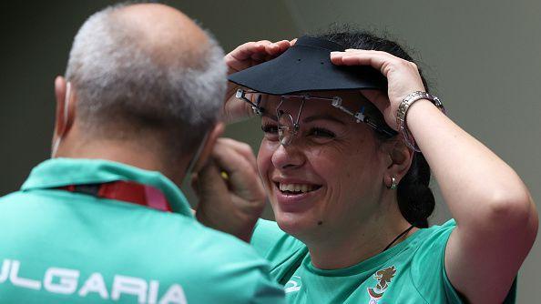 Антоанета Костадинова остана четвърта на 25 метра пситолет