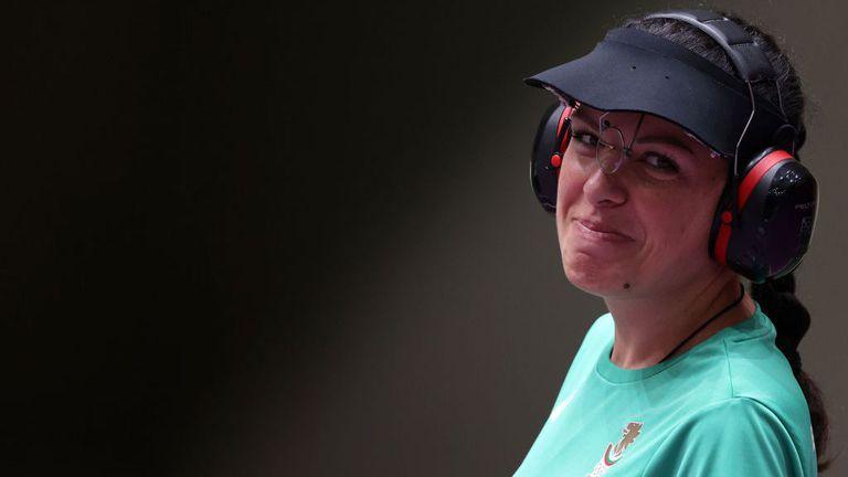 Eмоциите на Антоанета Костадинова във финала на 25 метра пистолет