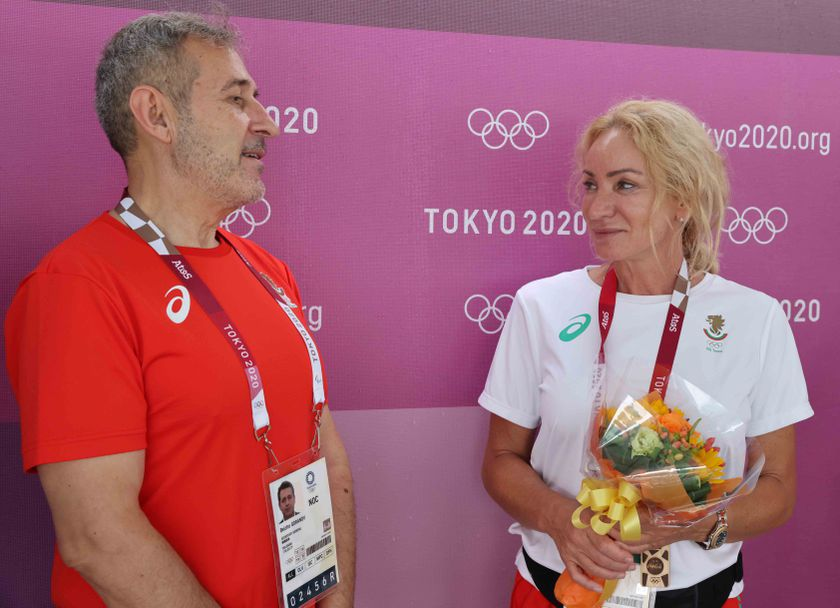 Белчо Горанов, Мария Гроздева