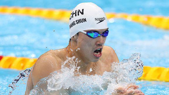Китаецът Ван Шун триумфира с титлата на 200 метра съчетано