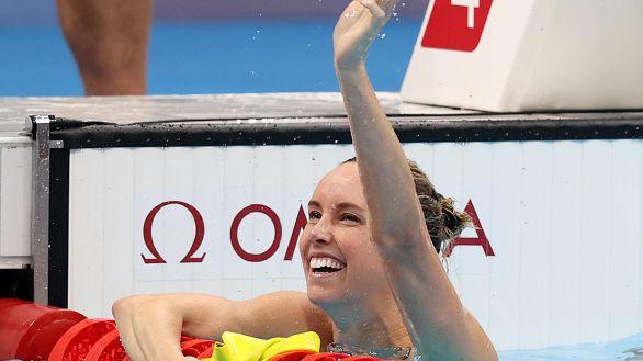 МакКион спечели златото на 100 м св.стил и донесе шеста титла на Австралия