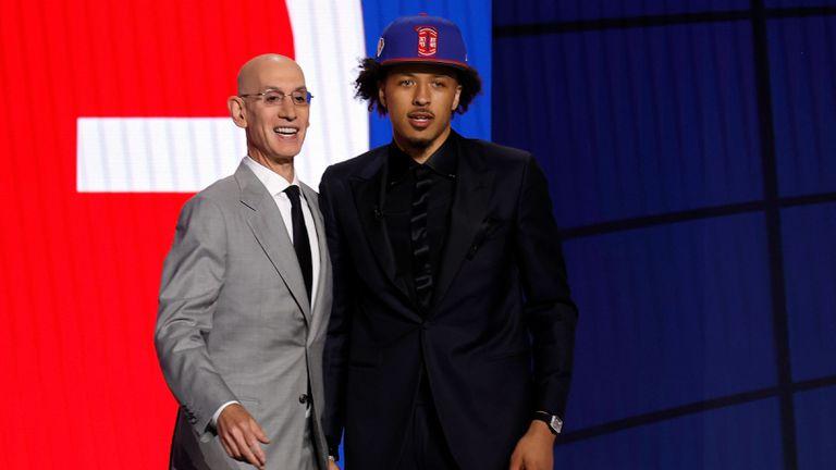 Детройт Пистънс взе гард с първия избор в Драфта на НБА