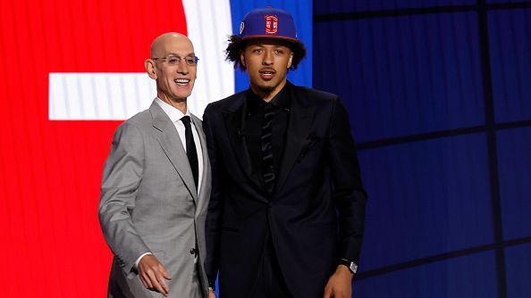 Детройт избра Кейд Кънингам под номер 1 в драфта на НБА