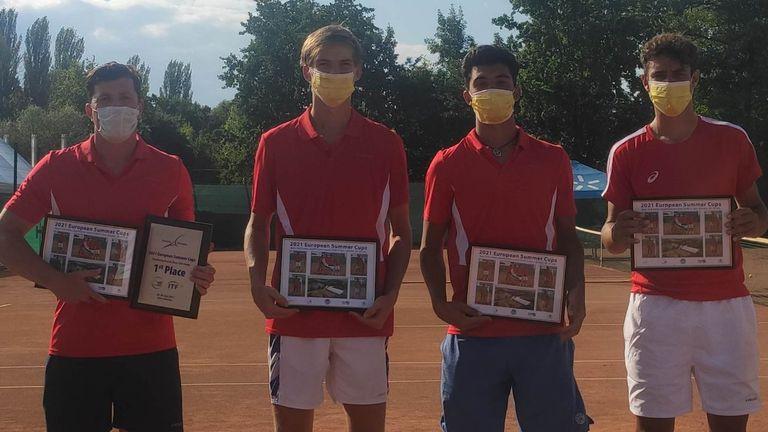 Юношите U18 триумфираха с титлата в Киев