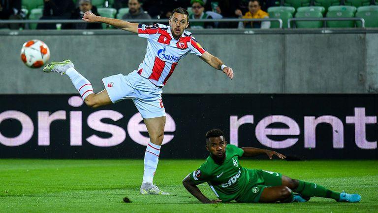 Лудогорец се провали в Разград, шампионите загубиха от Цървена звезда с 0:1
