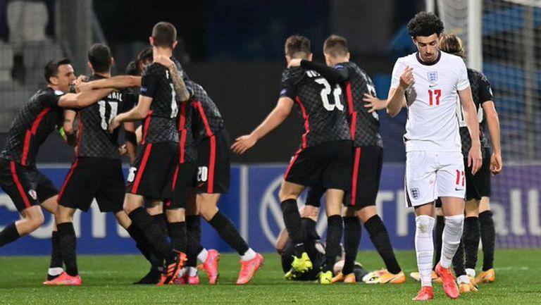 Гол в добавеното време изхвърли Англия от европейското първенство за младежи