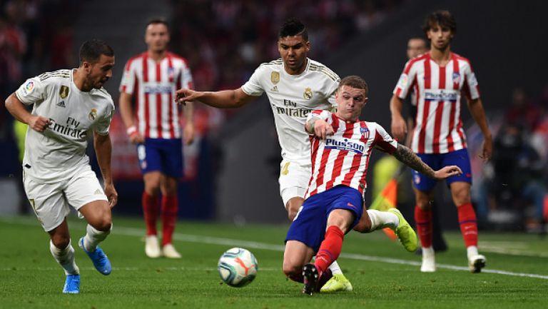 Реал Мадрид запази върха след здрава битка с Атлетико