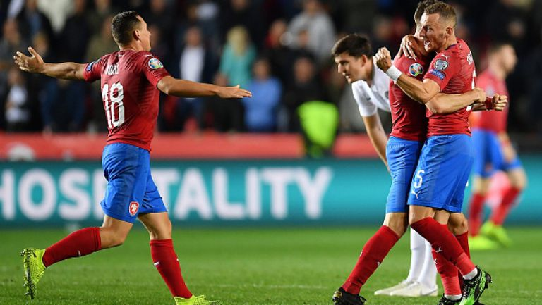 Чехия - Англия 2:1