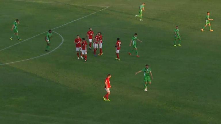 Втори гол на Евандро удвои преднината на ЦСКА-София срещу Пирин (Бл)