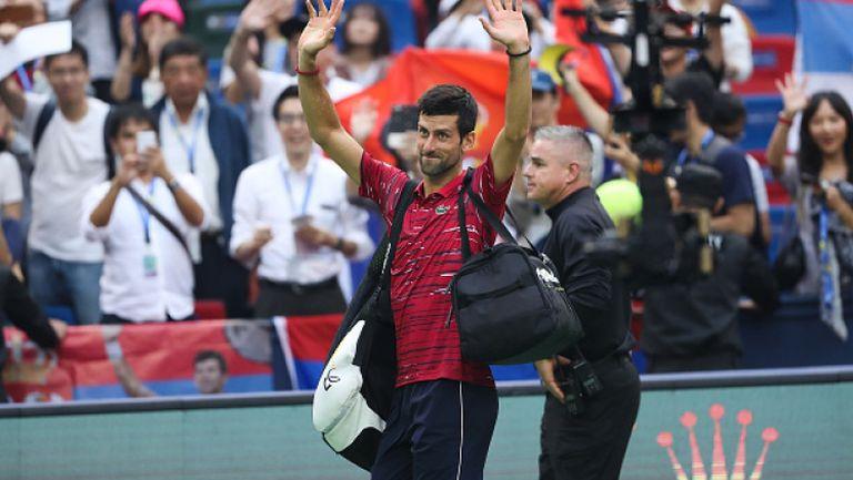 Джокович и Надал се забавляват с публиката на турнир в Казахстан