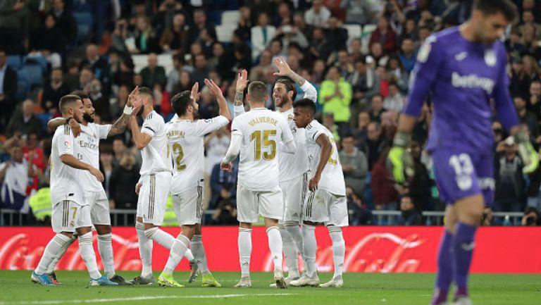 Реал Мадрид напълни мрежата на последния