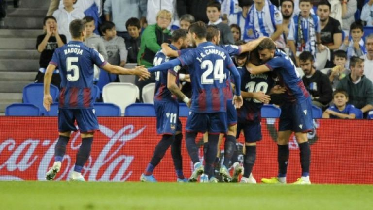 Реал Сосиедад - Леванте 1:2