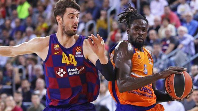 Барселона се справи с Валенсия и записа пета поредна поледа в Евролигата