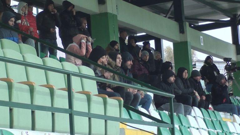 Малцина зрители заеха места на стадиона в Бистрица за Витоша - Славия