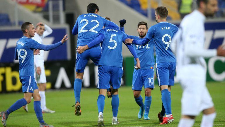Ейолфсон с глава удвои за Левски срещу Дунав
