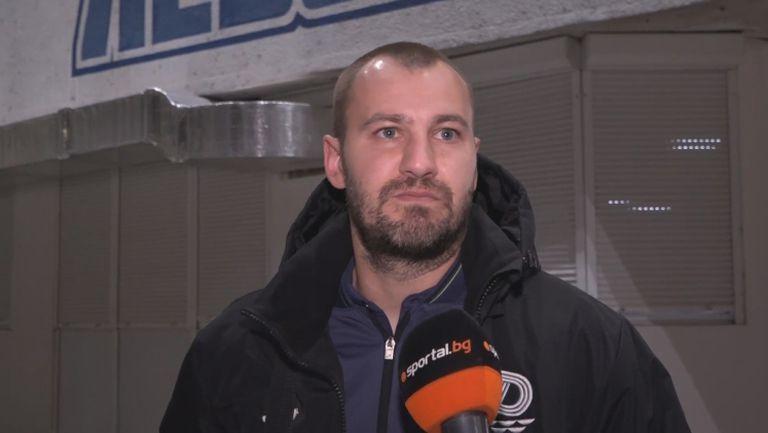 Макенджиев: При първия гол на Левски имаше 3 грешки - 2 на съдиите и 1 моя