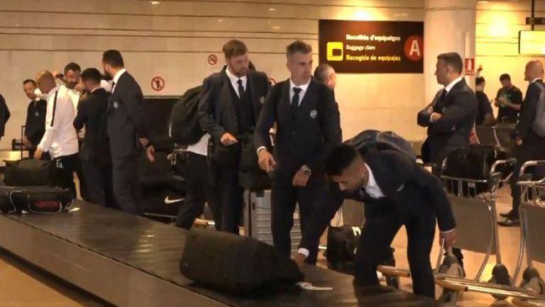 Лудогорец пристигна в Барселона