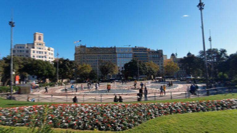 Барселона един ден преди сблъсъка на Лудогорец с Еспаньол