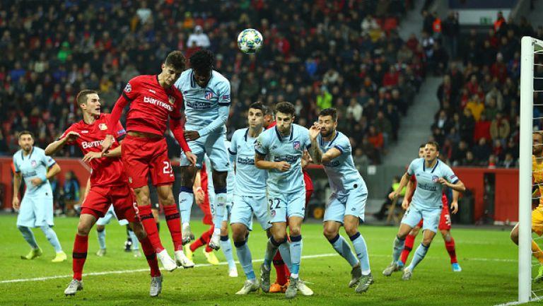 Байер (Леверкузен) - Атлетико Мадрид 2:1