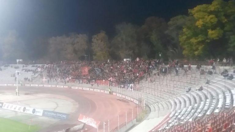 """Сектор """"Г"""" подкрепя любимците си срещу Славия"""